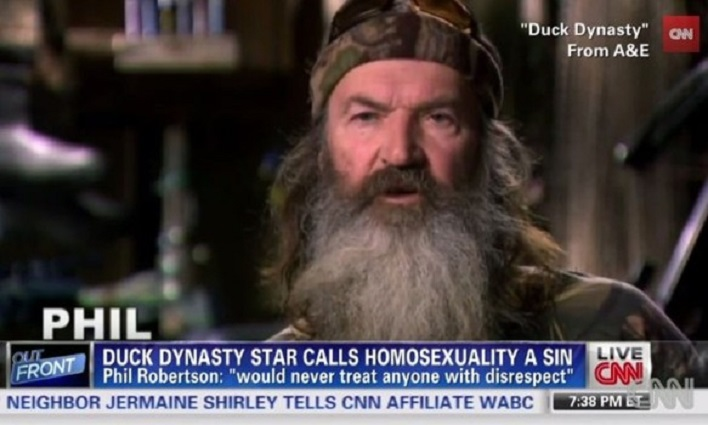 Phil Robertson Takes Down The Knockout Game Known As GLAAD