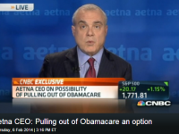 [VIDEO] Aetna Looking To 'Wet Its Beak With Obamacare Pullout Threat?