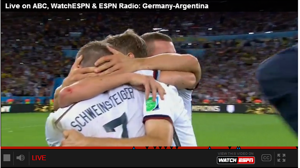 Germany Wins World Cup!