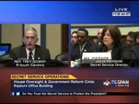 Trey Gowdy Grills Secret Service Head [VIDEO]