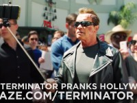 Arnold Pranks Fans As Terminator…for Charity [VIDEO]
