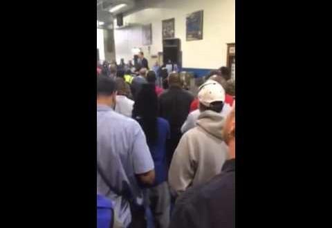 Carrier Air Conditioner Workers Boo Announcement To Move 1,400 Jobs to Mexico [VIDEO]