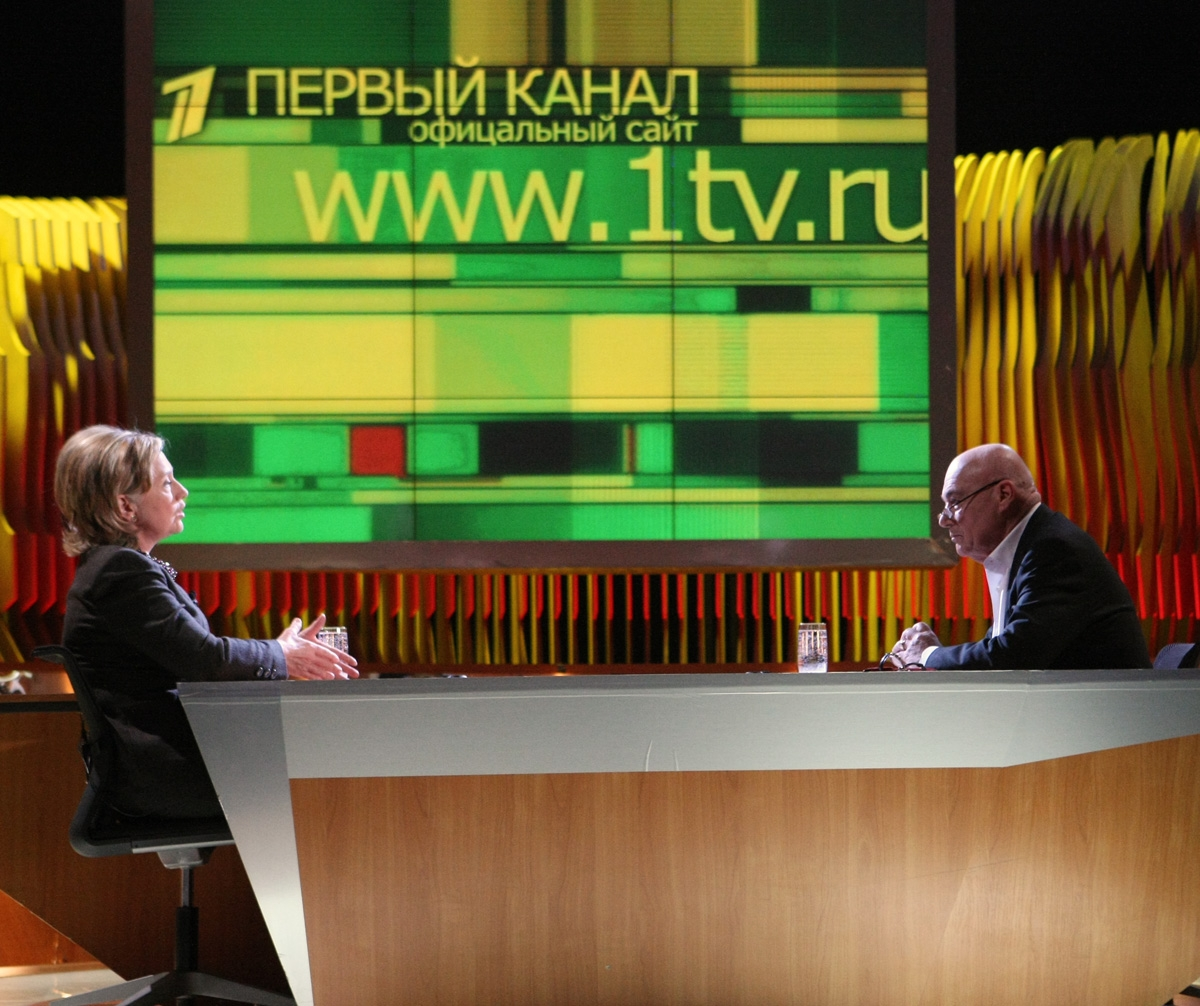 Speaking Of Russian TV, Guess Who Did 'The Pozner Show' On Channel