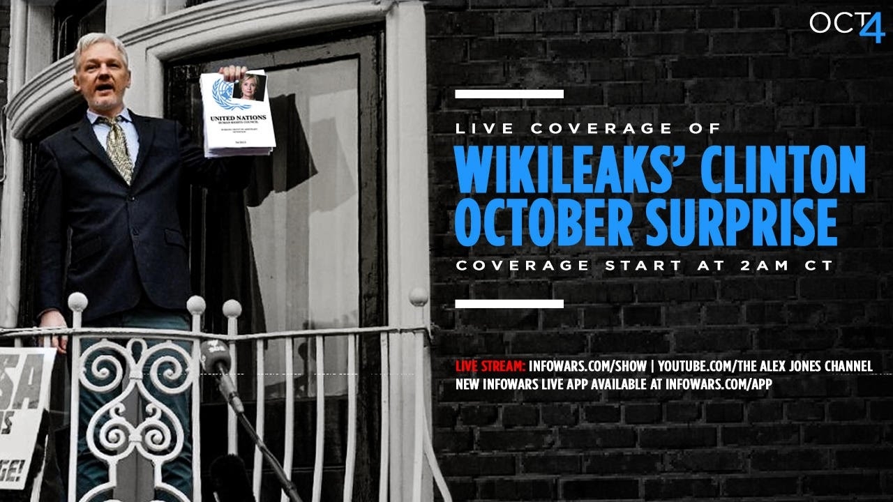 live stream wikileaks press conference 10 4 video the 405 media