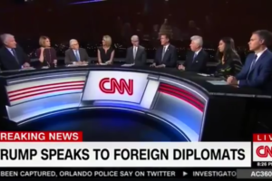 Does CNN's 'Last Supper' Sized #Inauguration Anchor Desk Overcompensate For Inadequacy?