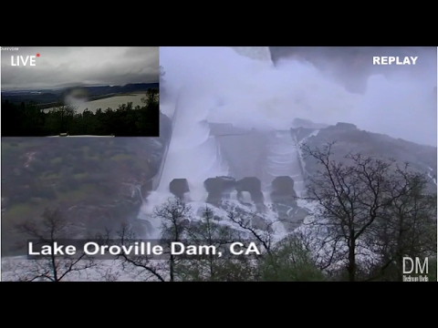 LIVE: Oroville Dam Spillway [VIDEO] – The 405 Media