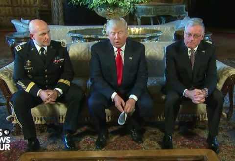President  Donald Trump Names H.R. McMaster As National Security Adviser 2/20 [VIDEO]