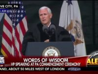 VP Mike Pence Commencement Address At Grove City College, PA 5/20
