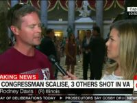 Rep Rodney Davis: Congressional Baseball Practice Shooting 'First Political Rhetoric Terrorist Act' 6/14 [VIDEO]
