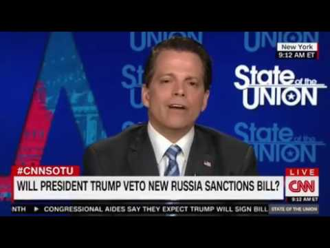 Anthony Scaramucci vs CNN Jake Tapper HEATED Interview ...