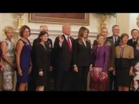 President Trump Gives Mysterious Warning Alongside Military Leaders @ The White House 10/5 [VIDEO]