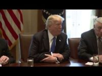 President Trump Meets with Bipartisan Members of the Senate on Immigration 1/9 [VIDEO]